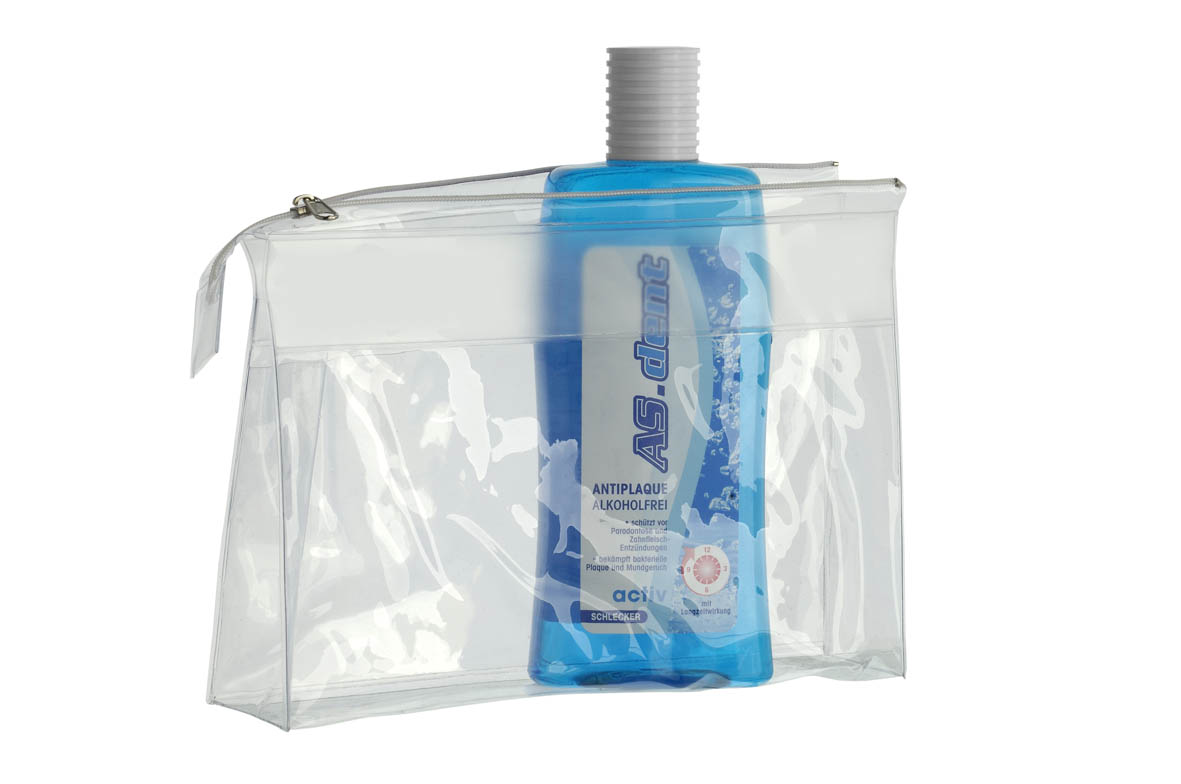 TRANSPARENTER BEUTEL L-PLUS 24 x 16cm -
